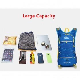CLEVER BEES Tas Ransel Gunung Hiking Waterproof 35L - L50 - Black - 6