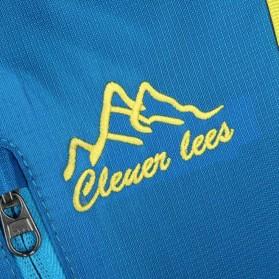 CLEVER BEES Tas Ransel Gunung Hiking Waterproof - L51 - Black - 8