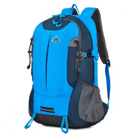 CLEVER BEES Tas Ransel Gunung Hiking Waterproof - L27 - Blue