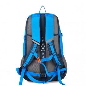 CLEVER BEES Tas Ransel Gunung Hiking Waterproof - L27 - Blue - 2