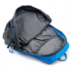 CLEVER BEES Tas Ransel Gunung Hiking Waterproof - L27 - Blue - 3