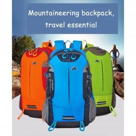 CLEVER BEES Tas Ransel Gunung Hiking Waterproof - L27 - Blue - 4