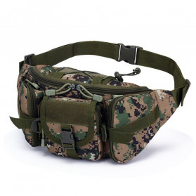 IMOK Tas Pinggang Pria Army Waist Bag Fanny Pack - BL016 - Camouflage