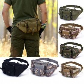 IMOK Tas Pinggang Pria Army Waist Bag Fanny Pack - BL016 - Camouflage - 2