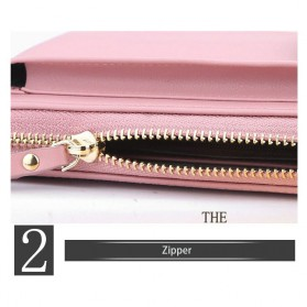 BATSIOE Tas Selempang Kulit Wanita Mini Crossbody Shoulder Bag - DP8591 - Pink - 2