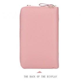 BATSIOE Tas Selempang Kulit Wanita Mini Crossbody Shoulder Bag - DP8591 - Pink - 6