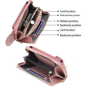 BATSIOE Tas Selempang Kulit Wanita Mini Crossbody Shoulder Bag - DP8591 - Pink - 8