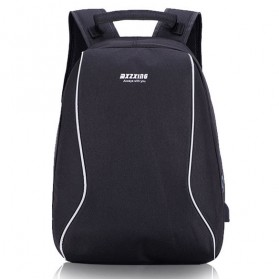 Laptop / Notebook - Mxzxing Tas Ransel Bisnis dengan USB Port Charging & Earphone - 2060 - Black
