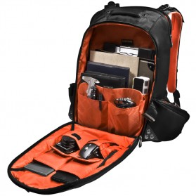 Everki EKP117NBKCT - Beacon Laptop Backpack with Gaming Console Sleeve - Black - 5