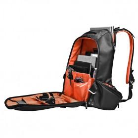 Everki EKP117NBKCT - Beacon Laptop Backpack with Gaming Console Sleeve - Black - 7