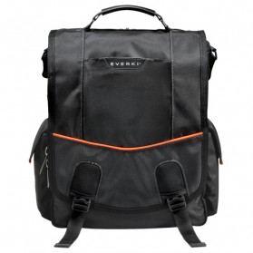 Everki EKS620 Urbanite Laptop Vertical Messenger Bag, Fits up to 14.1-inch - Black - 2