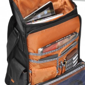 Everki EKS620 Urbanite Laptop Vertical Messenger Bag, Fits up to 14.1-inch - Black - 6