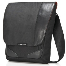 Everki Venue Premium iPad / Kindle / Tablet RFID Mini Messenger - EKS622 - Black - 2