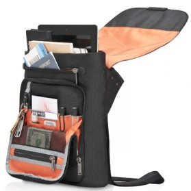 Everki Venue Premium iPad / Kindle / Tablet RFID Mini Messenger - EKS622 - Black - 4