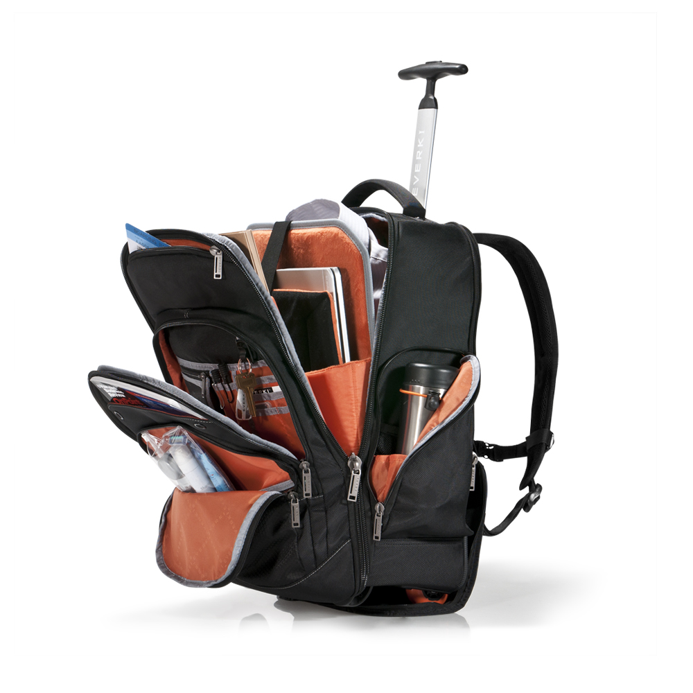Everki Atlas Wheeled Laptop Backpack 13 Inch to 17 3 Inch
