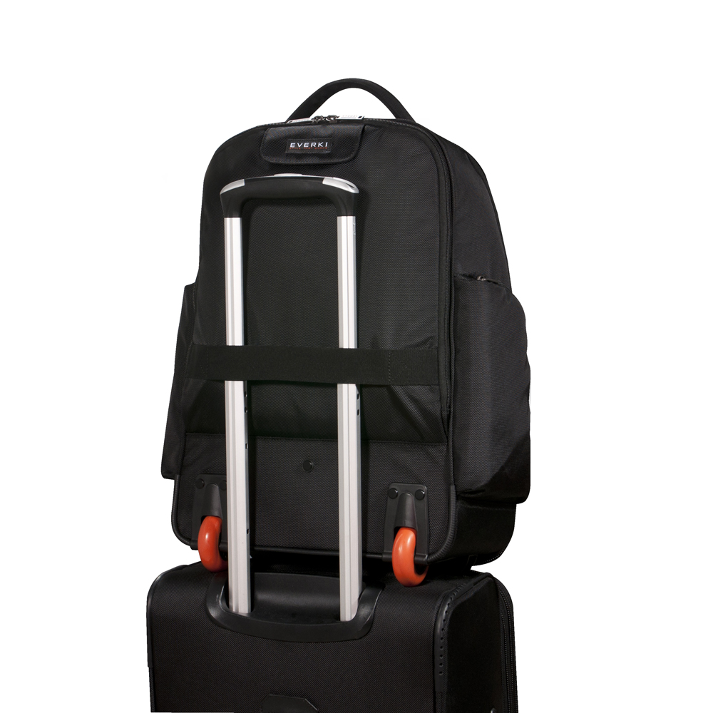 Everki Atlas Wheeled Laptop Backpack 13 Inch to 17.3 Inch Adaptable Compartment - EKP122 - Black - 5