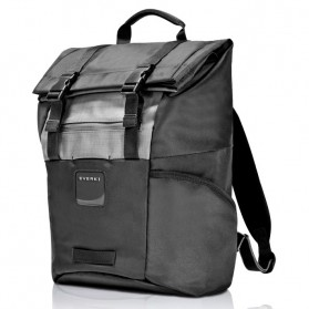 Everki EKP161 ContemPRO Roll Top Laptop Backpack 15.6 Inch - Black - 2