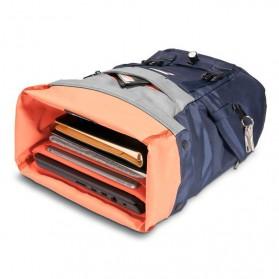 Everki EKP161 ContemPRO Roll Top Laptop Backpack 15.6 Inch - Navy Blue - 4