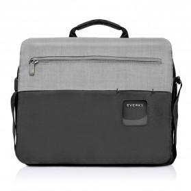 Everki EKF661 ContemPRO Tas Selempang Laptop Briefcase Commuter Bag 14.1 Inch - Black