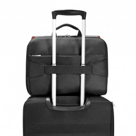 Everki EKF661 ContemPRO Tas Selempang Laptop Briefcase Commuter Bag 14.1 Inch - Black - 4