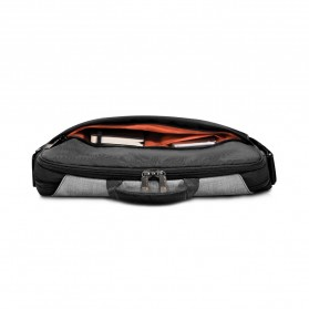 Everki EKF661 ContemPRO Tas Selempang Laptop Briefcase Commuter Bag 14.1 Inch - Black - 7