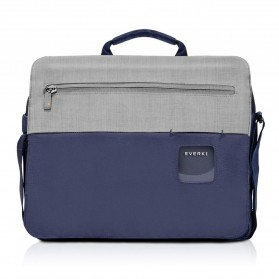 Everki EKF661 ContemPRO Tas Selempang Laptop Briefcase Commuter Bag 14.1 Inch - Navy Blue