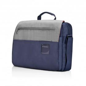 Everki EKF661 ContemPRO Tas Selempang Laptop Briefcase Commuter Bag 14.1 Inch - Navy Blue - 2