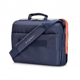Everki EKF661 ContemPRO Tas Selempang Laptop Briefcase Commuter Bag 14.1 Inch - Navy Blue - 3
