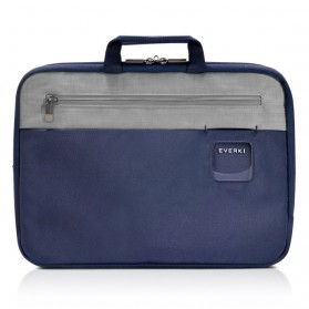Everki EKF861 ContemPRO Laptop Sleeves Bag with Memory Foam 13.3 Inch - Navy Blue