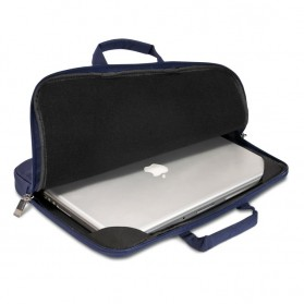 Everki EKF861 ContemPRO Laptop Sleeves Bag with Memory Foam 15.6 Inch - Navy Blue - 2