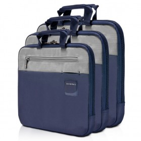 Everki EKF861 ContemPRO Laptop Sleeves Bag with Memory Foam 15.6 Inch - Navy Blue - 5