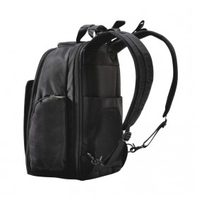 Everki EKP127 - Versa Premium Checkpoint Friendly Laptop Backpack, up to 14.1 - Black - 7