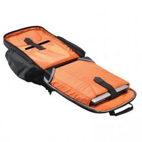 Everki EKP127 - Versa Premium Checkpoint Friendly Laptop Backpack, up to 14.1 - Black - 9