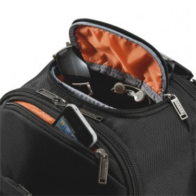 Everki EKP127 - Versa Premium Checkpoint Friendly Laptop Backpack, up to 14.1 - Black - 12
