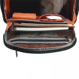 Everki EKP127 - Versa Premium Checkpoint Friendly Laptop Backpack, up to 14.1 - Black - 13