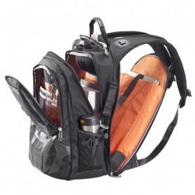 Everki EKP133 - Concept Premium Checkpoint Laptop Backpack, up to 17.3 - Black - 4
