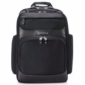 Everki EKP132 Onyx Tas Ransel Laptop Premium Travel Backpack 15.6 Inch - Black