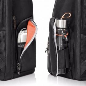 Everki EKP132 Onyx Tas Ransel Laptop Premium Travel Backpack 15.6 Inch - Black - 10