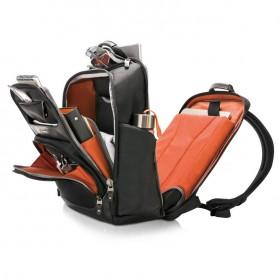 Everki EKP132 Onyx Tas Ransel Laptop Premium Travel Backpack 15.6 Inch - Black - 2