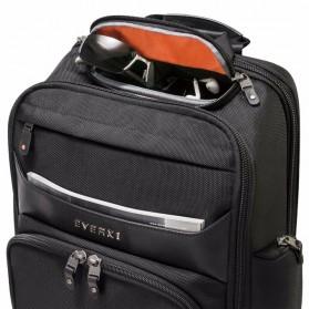 Everki EKP132 Onyx Tas Ransel Laptop Premium Travel Backpack 15.6 Inch - Black - 5