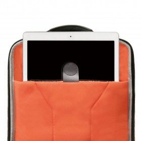 Everki EKP132 Onyx Tas Ransel Laptop Premium Travel Backpack 15.6 Inch - Black - 7
