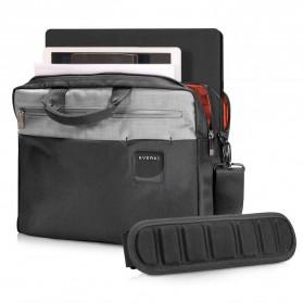 Everki EKB460 ContemPRO Tas Selempang Laptop Briefcase Commuter Bag 15.6 Inch - Black - 4