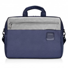 Everki EKB460 ContemPRO Tas Selempang Laptop Briefcase Commuter Bag 15.6 Inch - Navy Blue