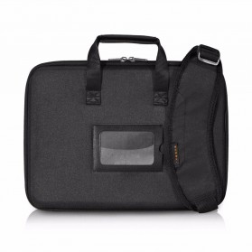 Everki EKF880 EVA Tas Selempang Laptop Hard Case Universal 14.1 Inch - Black - 1