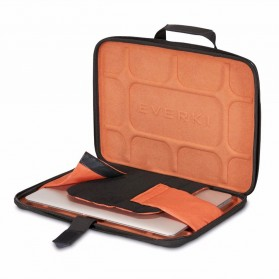 Everki EKF880 EVA Tas Selempang Laptop Hard Case Universal 14.1 Inch - Black - 3