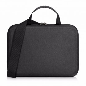 Everki EKF850 EVA Hard Case Tas Laptop Sleeves Bag 12.1 Inch with Separate Tablet Slot - Black