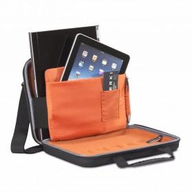 Everki EKF850 EVA Hard Case Tas Laptop Sleeves Bag 12.1 Inch with Separate Tablet Slot - Black - 3
