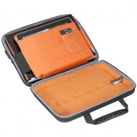 Everki EKF850 EVA Hard Case Tas Laptop Sleeves Bag 12.1 Inch with Separate Tablet Slot - Black - 4