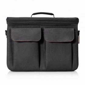 Everki EKF875 Core Tas Selempang Laptop Briefcase Bag Ruggedized EVA 14 inch - Black