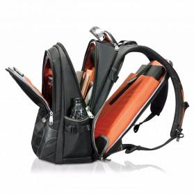 Everki EKP133B Concept 2 Tas Ransel Laptop Premium Travel Backpack 17.3 Inch - Black - 3